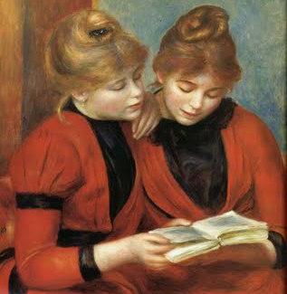 Les deux sœurs, Auguste Renoir (1889)